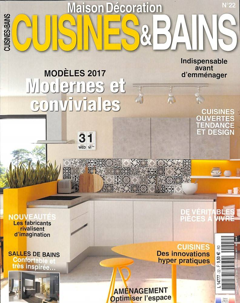 magazine de la cuisine france cuisines bains atelier bois deco. Black Bedroom Furniture Sets. Home Design Ideas